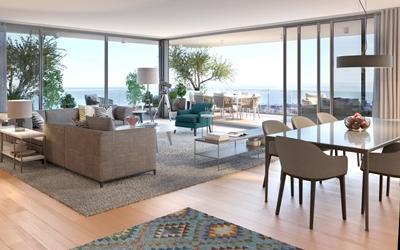 Lizbon'da Lüks ve Modern Rezidans Projesi